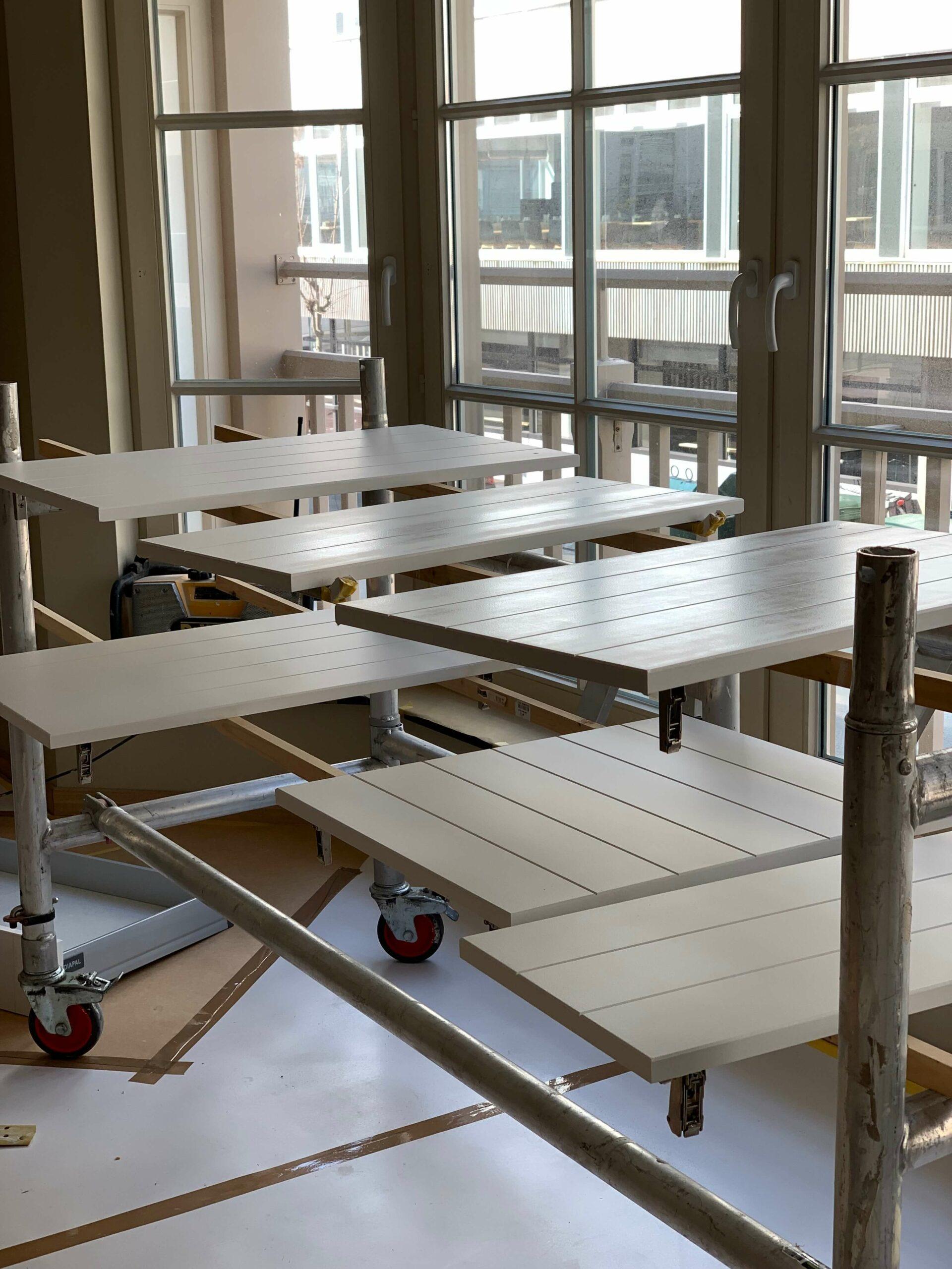 Afbeelding project Nellenslaan Knokke - Artipaint Schilderwerken en Interieur