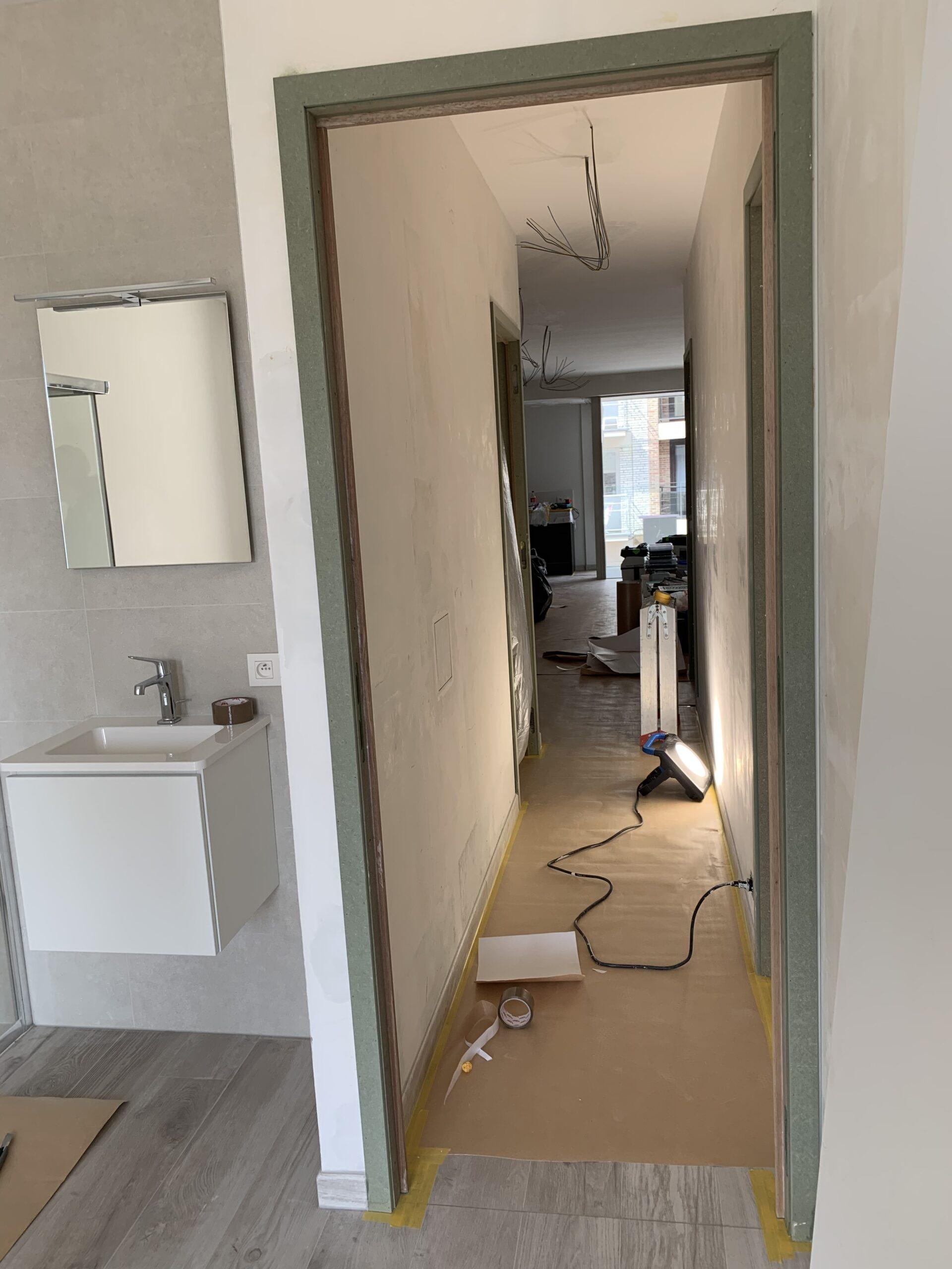 Afbeelding project Van Bunnenlaan Knokke - Artipaint Schilderwerken en Interieur