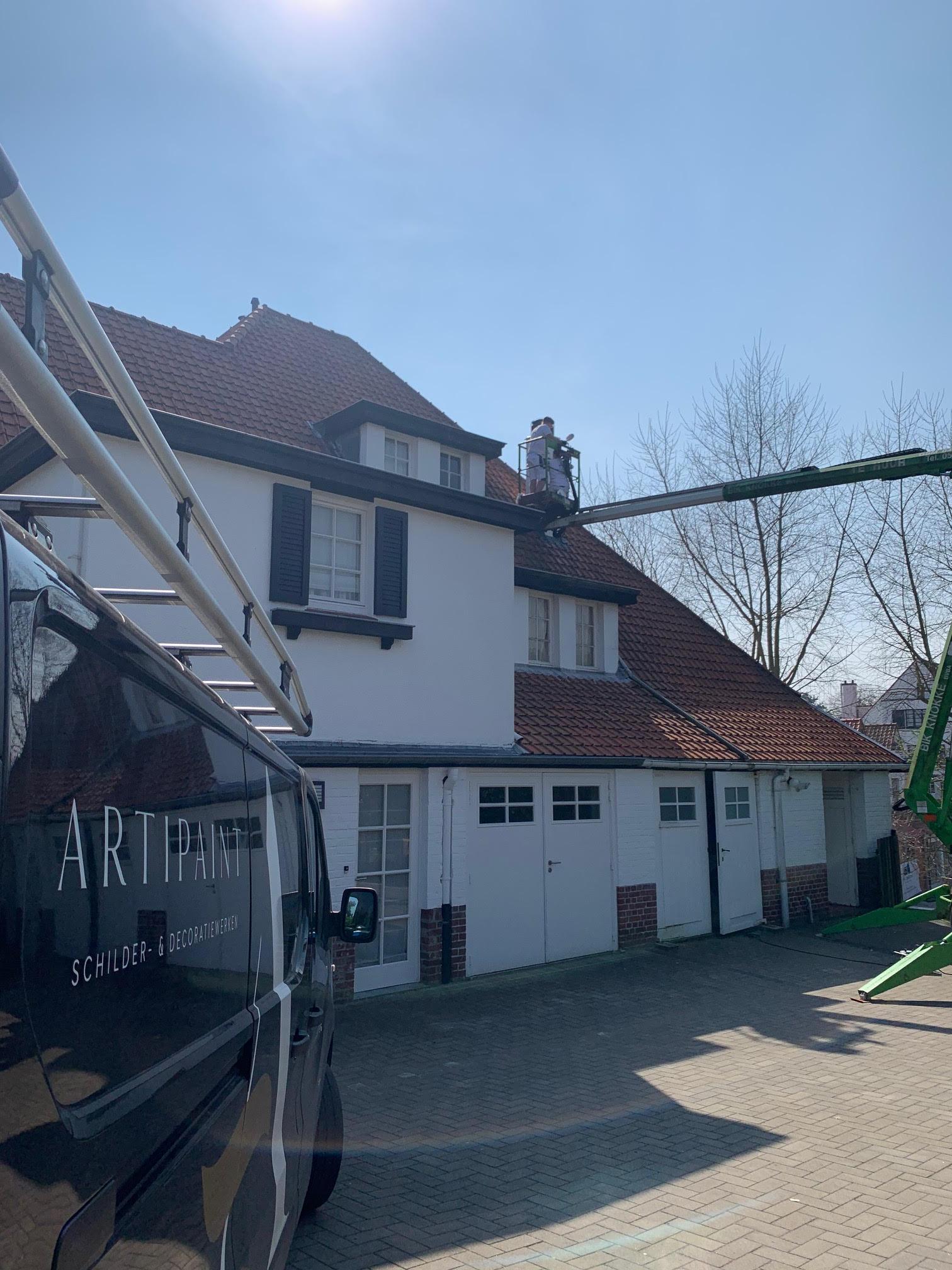 Afbeelding project Poolspad - Artipaint Schilderwerken en Interieur
